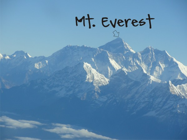 mt everest graphic